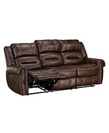 "Cunningham 86"" Manual Motion Reclining Sofa"