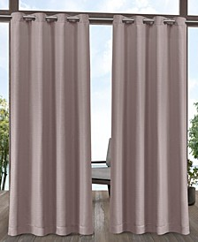 Aztec Indoor/Outdoor Grommet Top Curtain Panel Pair, 54 x 120""