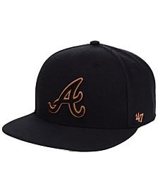 '47 Brand Atlanta Braves Townhouse Snapback Cap