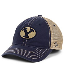 Zephyr Brigham Young Cougars Crosswind Mesh Snapback Cap