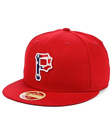 New Era Pittsburgh Pirates Retro 2009 Stars and Stripes 59FIFTY Fitted Cap
