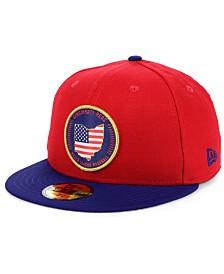 New Era Cincinnati Reds Stately 59FIFTY Fitted Cap
