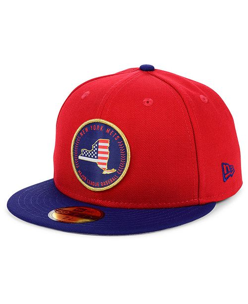 New Era New York Mets Stately 59FIFTY Fitted Cap