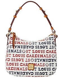 Dooney & Bourke St. Louis Cardinals Small Kiley Hobo Bag