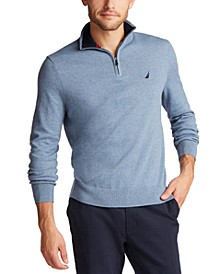 Men's Classic-Fit Navtech Quarter-Zip Sweater
