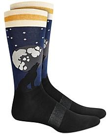 Men's Howling Wolf Socks, Created for Macy's