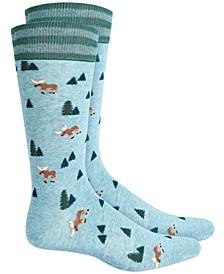 Men's Moose Socks, Created for Macy's