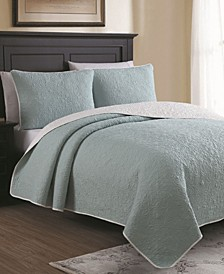 Estate Marseille King 3 Piece Quilt Set