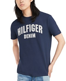 Tommy Hilfiger Denim Men's Koston Logo Graphic T-Shirt