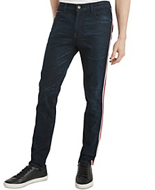 Men's Slim-Fit Tapered Stretch Richards Vintage Denim Jeans, Created for Macy's