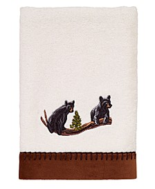 Black Bear Lodge Hand Towel