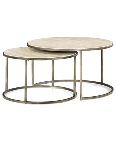 Monterey Coffee Table, Round Nesting - Monterey Coffee Table, Round Nesting - Furniture - Macy's