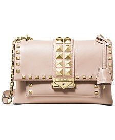 Cece Studded Leather Chain Shoulder Bag