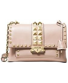 MICHAEL Michael Kors Cece Studded Leather Chain Shoulder Bag