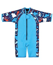 Toddler Boy's Shorty Wetsuit