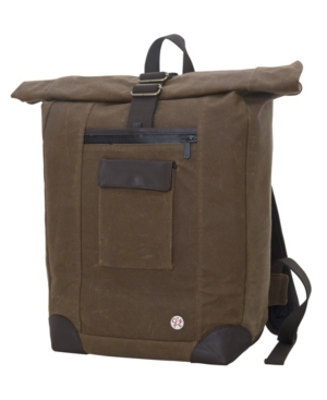 Looking for a backpack that will be there through thick and thin the waxed montrose backpack is the real deal. With a special structured padded back panel, this bag will sit comfortably and won\\\'t weight you down.