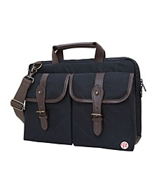 "Waxed Knickerbocker 13"" Laptop Bag"