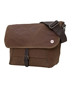 Waxed Lincoln Small Messenger