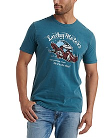 Men's Moto Boar Graphic T-Shirt