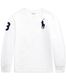 Big Boys Jersey Cotton T-Shirt