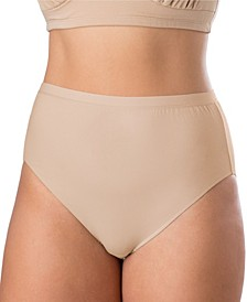 Essentials Plus Cotton Stretch Full High Cut Brief
