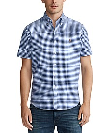 Men's Classic Fit Gingham Shirt