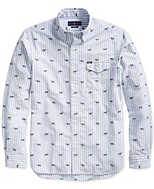 Men's Classic Hunting Dog Oxford