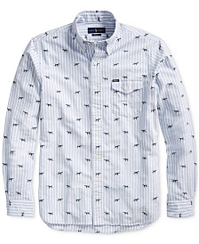 Polo Ralph Lauren Men's Classic Hunting Dog Oxford