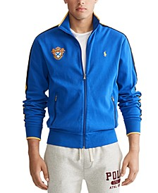 Men's Cotton Emblem Track Jacket