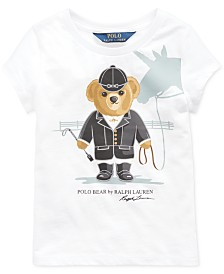 Polo Ralph Lauren Toddler Girls Jersey Cotton T-Shirt