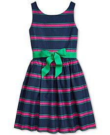 Big Girls Cotton Cricket Dress