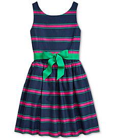 Polo Ralph Lauren Big Girls Cotton Cricket Dress