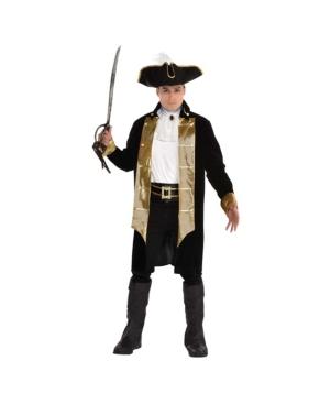 Treasure Captain Adult Men's Costume