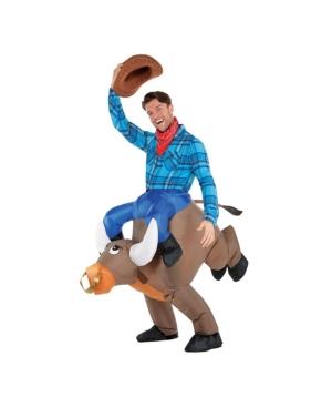 Inflatable Bull Adult Men's Costume