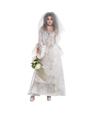 Ghost Bride Adult Women's Costume