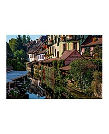 """Collection - Colmar France Canals Canvas Art, 36"""" x 27"""""""