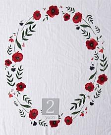 Summer Poppy Photo Blanket