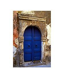 """- The Blue Door Canvas Art, 27"""" x 36"""""""