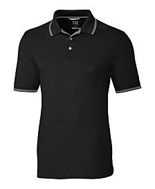 Cutter and Buck Men's Big and Tall Advantage Tipped Polo