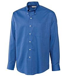 Men's Big & Tall Long Sleeves Epic Easy Care Nailshead Shirt