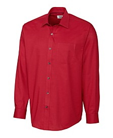Men's Big & Tall Long Sleeves Epic Easy Care Spread Nailshead Shirt