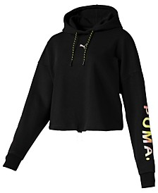 Puma Chase Cropped Hoodie