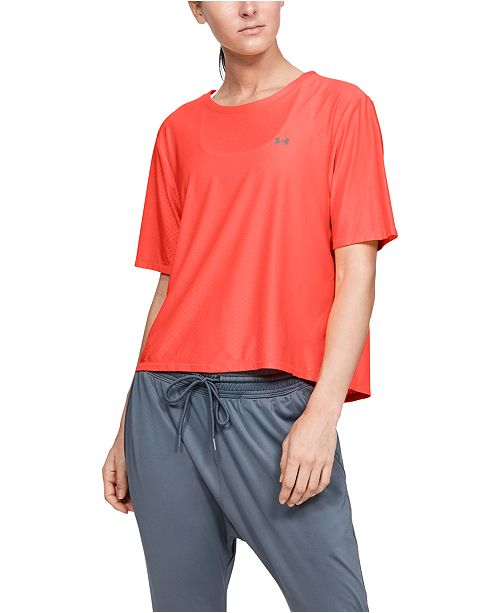 Under Armour Women's Mesh Training T-Shirt