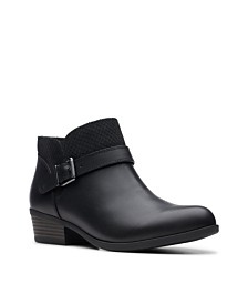 Clarks Collection Women's Addiy Sharilyn Ankle Booties