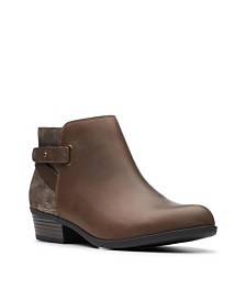 Clarks Collection Women's Addiy Gladys Ankle Booties