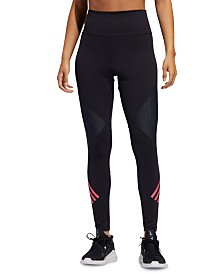 adidas Believe This High-Waist 3-Stripe Leggings