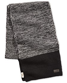 Men's Marled Colorblocked Scarf, Created for Macy's