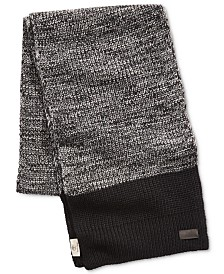 Timberland Men's Marled Colorblocked Scarf, Created for Macy's