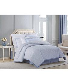 CLOSEOUT! Charisma Settee Cotton Printed California King 4 Piece Comforter Set