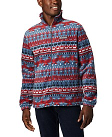 Men's Printed Steens Fleece Jacket